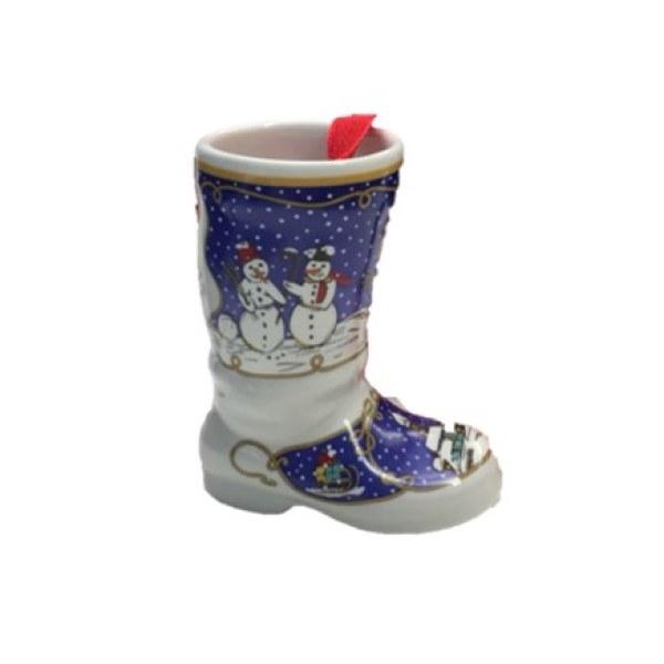【低价促销 不退不换】德国Hutschenreuther(狮牌)瓷质靴子型挂件