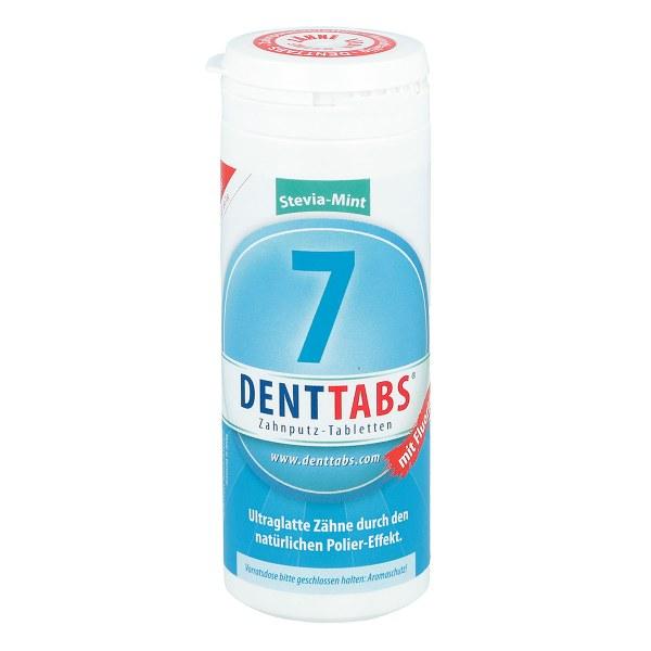 Denttabs Zahnputztabletten stevia mint