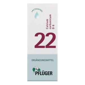 Biochemie Pflüger 22 Calcium carbon.D 6 Tropfen