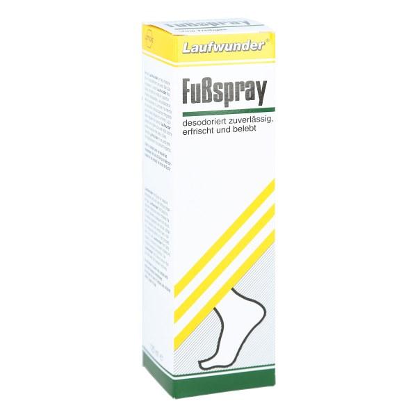 Laufwunder Fussspray ohne  Gas