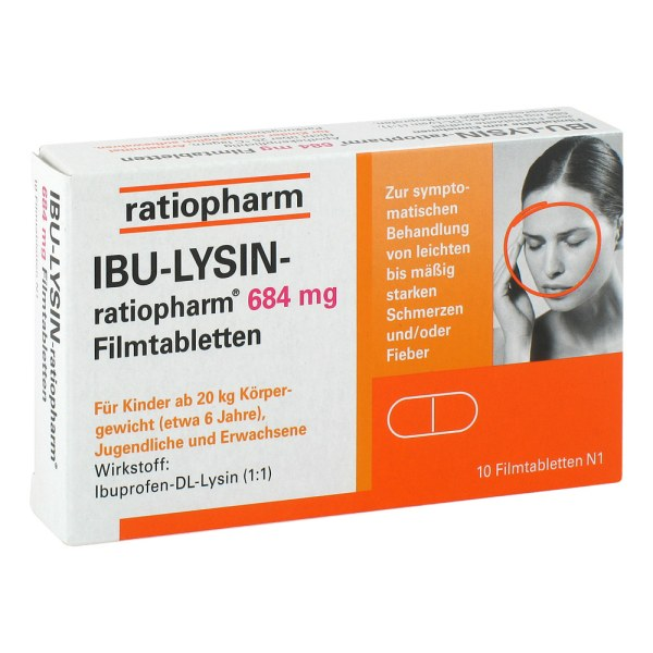 IBU-LYSIN-ratiopharm 684mg
