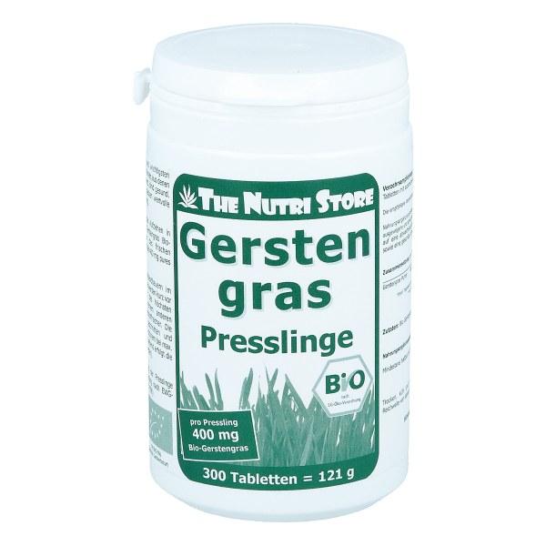 Gerstengras 400 mg Bio Presslinge