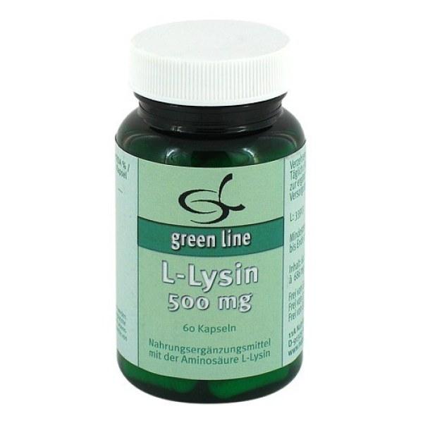 L-lysin 500 mg Kapseln