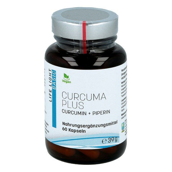 Curcuma + schwarzer Pfeffer Kapseln