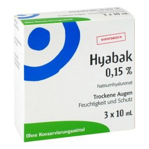 Hyabak Augentropfen