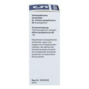 Biochemie Globuli 5 Kalium phosphoricum D 6