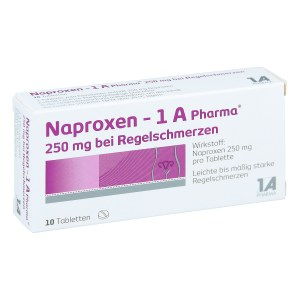 Naproxen-1A Pharma 250mg bei Regelschmerzen