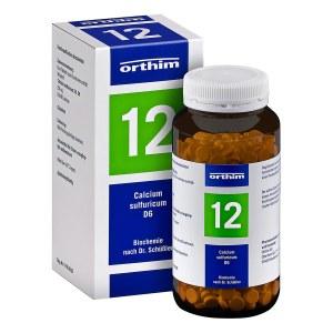 Biochemie Orthim 12 Calcium sulfuricum D 6 Tabletten