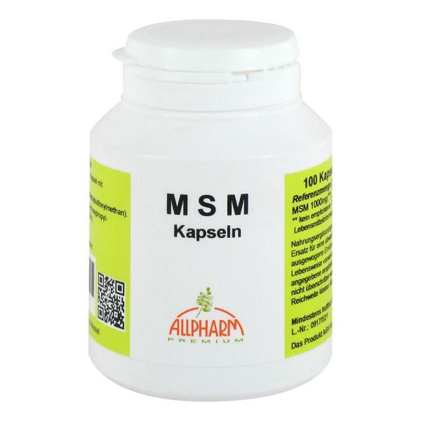Msm Kapseln 500 mg