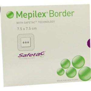 Mepilex Border Schaumverband 7,5x7,5cm