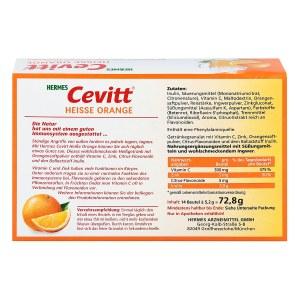 Hermes Cevitt Heisse Orange Granulat
