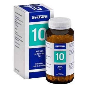 Biochemie Orthim 10 Natrium sulfuricum D 6 Tabletten