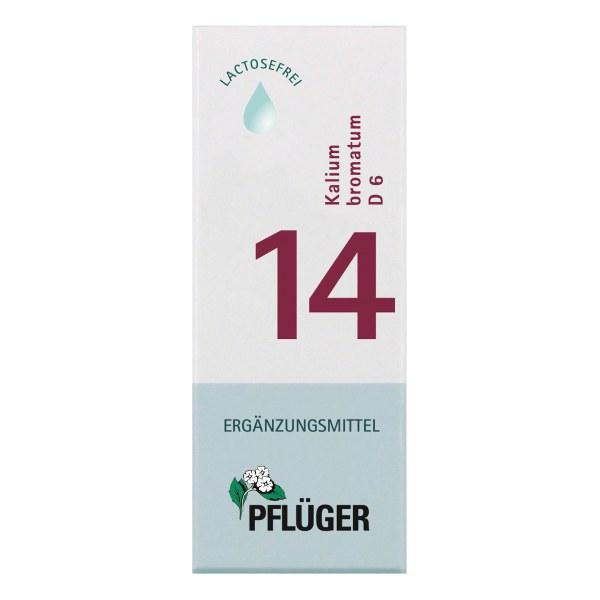 Biochemie Pflüger 14 Kalium bromat.D 6 Tropfen