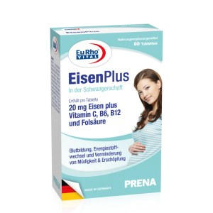德国EuRho Vital欧维孕妇多维叶酸补血铁元