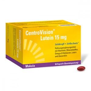 Centrovision Lutein 15 mg Kapseln (90 stk)