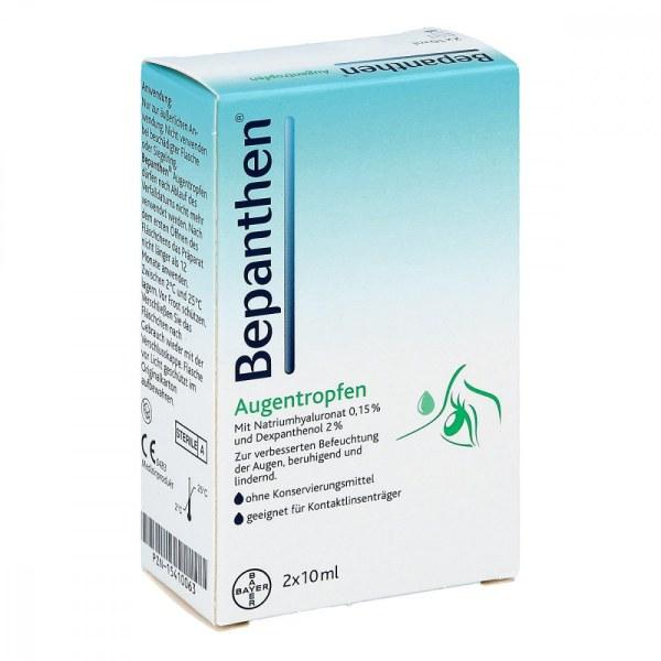 Bepanthen Augentropfen (2X10 ml)