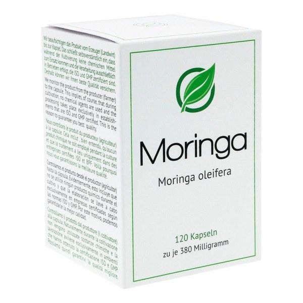Moringa Moringa oleifera 380 mg Hartkapseln (120 stk)
