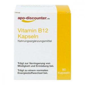 德国APO维生素 B12 胶囊(90 粒)