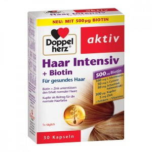 Doppelherz Haar Intensiv+biotin Kapseln (30 stk)