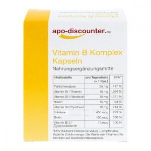 德国apo-discounter B 族维生素胶囊(60 粒)