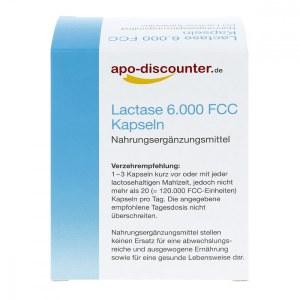 德国APO乳糖酶 6,000 Fcc 胶囊(90 粒)