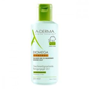 A-derma Exomega Control Reinigungsgel 2in1 (200 ml)