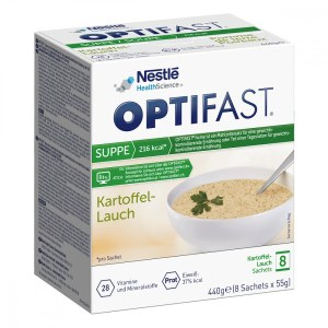 Optifast home Suppe Kartoffel-lauch Pulver (8X55 g)
