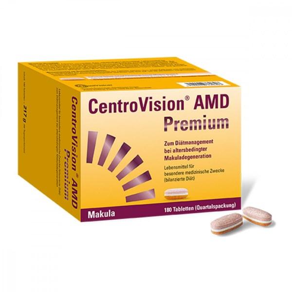 Centrovision Amd Premium Tabletten (180 stk)