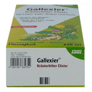 Gallexier Kräuterbitter Elixier Salus Flüss.z.e. (250 ml)