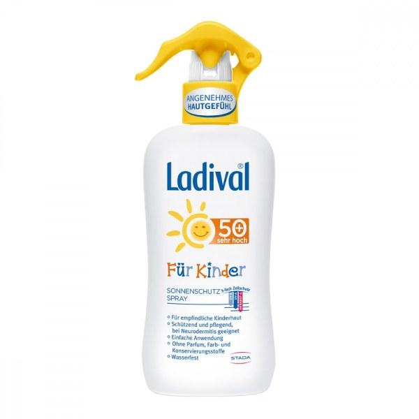 Ladival Kinder Sonnenschutz Spray Lsf 50+ (200 ml)