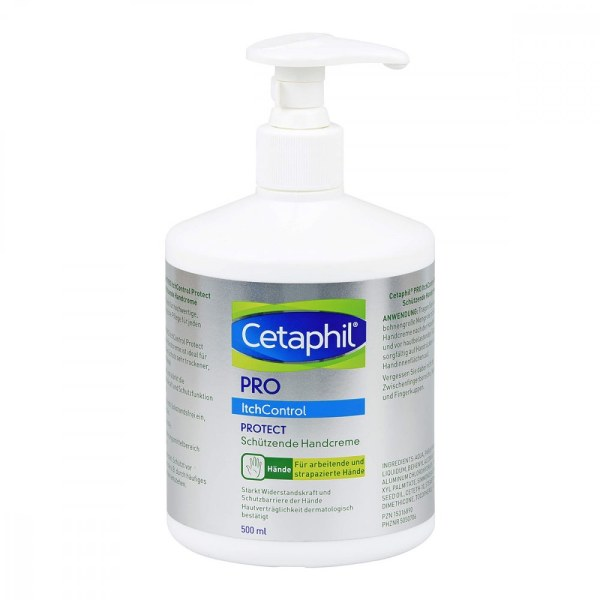 Cetaphil Pro Itch Control Protect Handcreme (500 ml)