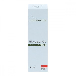 Grünhorn Organic CBD OIL 5% (10 ml)