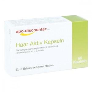 德国APO头发活力保健胶囊(包装规格:60 片)