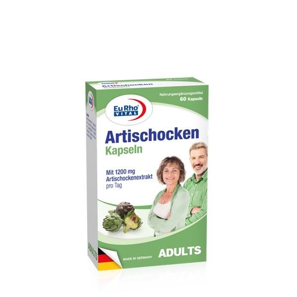 德国EuRho Vital欧维天然草本洋蓟护肝胶囊 醒酒养肝护肝片 60粒/盒