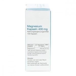 Magnesium Kapseln 400 mg von apo-discounter (100 stk)