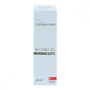 Grünhorn Organic CBD OIL 10% (10 ml)