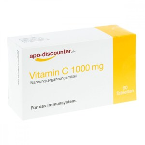 Vitamin C1000 mg Tabletten von apo-discounter (60 stk)