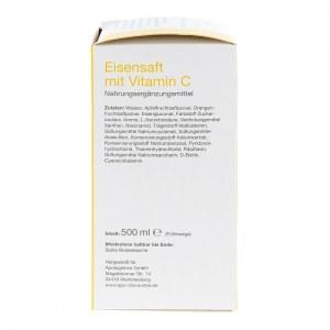 Apo-discounter Eisensaft mit Vitamin C von apo-discounter (500 ml)