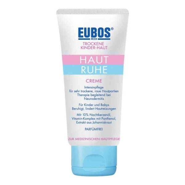 【包装破损,低价促销,不退不换】德国Eubos  仪宝儿童干燥皮肤舒缓保湿霜