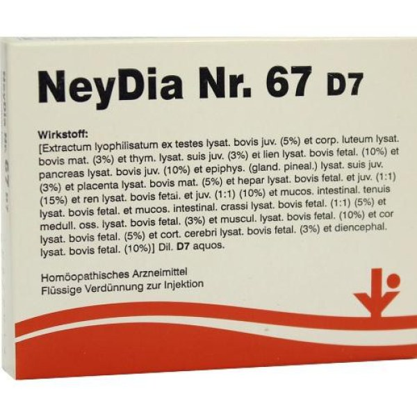 Neydia Nummer 6 7 D7 Ampullen (5X2 ml)