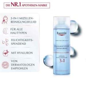 Eucerin Dermatoclean Hyal.miz.reinigungsfluid 3in1 (200 ml)