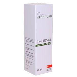 Grünhorn Bio Cbd-öl 5% (10 ml)