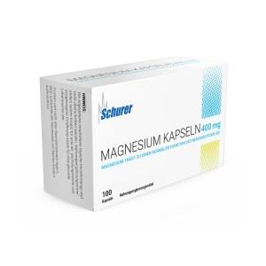 Schurer Magnesium 400 mg Kapseln (100 stk)