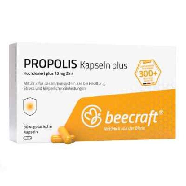 Beecraft Propolis Kapseln Plus (30 stk)