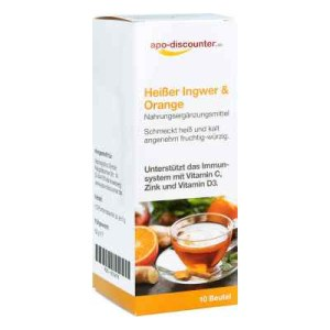 Heisser Ingwer+orange Pulver (10X5 g)