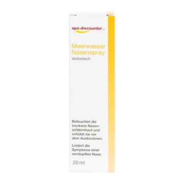 Meerwasser Nasenspray isotonisch (20 ml)