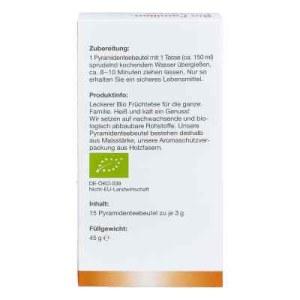 Bio Familien-Früchtetee Filterbeutel (15X1.5 g)