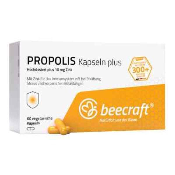 Beecraft Propolis Kapseln Plus (60 stk)