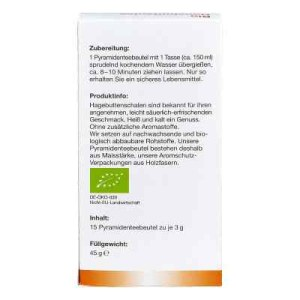 Bio Hagebutten Tee Filterbeutel (15X3 g)