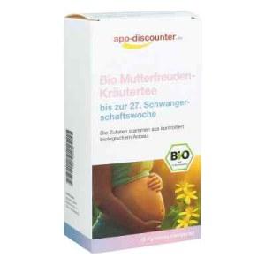 Bio Mutterfreuden-Kräutertee ohne Himbeerblätt.Fbtl. (15X1.5 g)